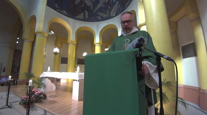 Messe Envoi Pélerinage-Homélie Père Yannick André-16092017