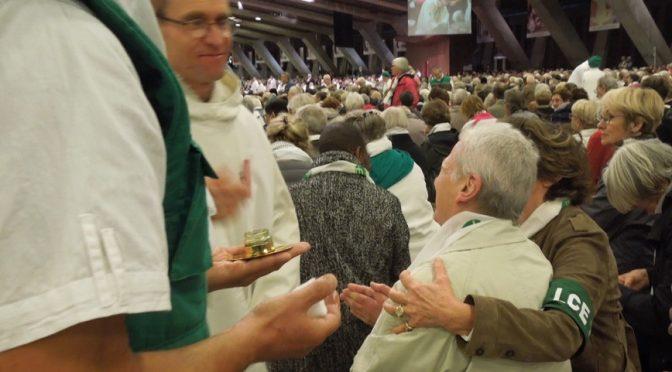 Messe des Malades à Notre-Dame avec LCE75