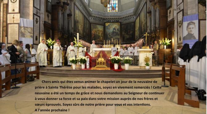 Chapelet Thérésien à ND des VICTOIRES avec LCE75
