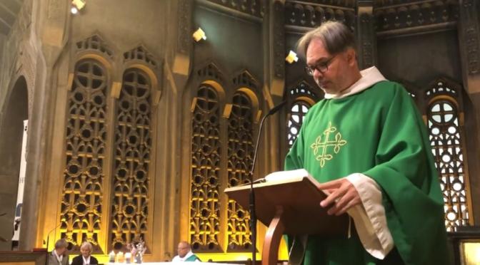 Messe : l'étranger revient sur ses pas et rend gloire à Dieu